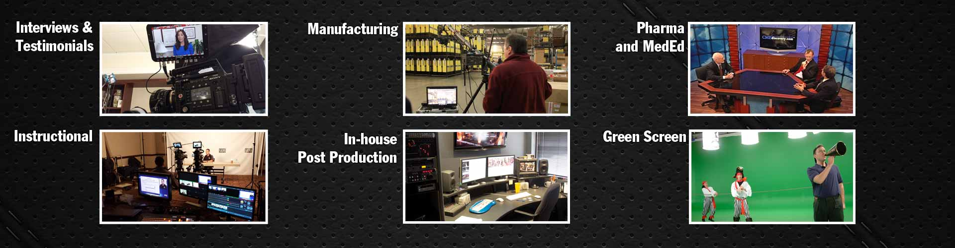 video production, studio, production facility